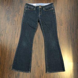 Gap 1969 jeans curvy boot cut size 8